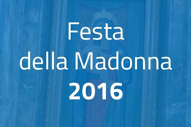 Festa della Madonna 2016