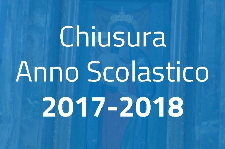 Chiusura Anno Scolastico 2017-2018