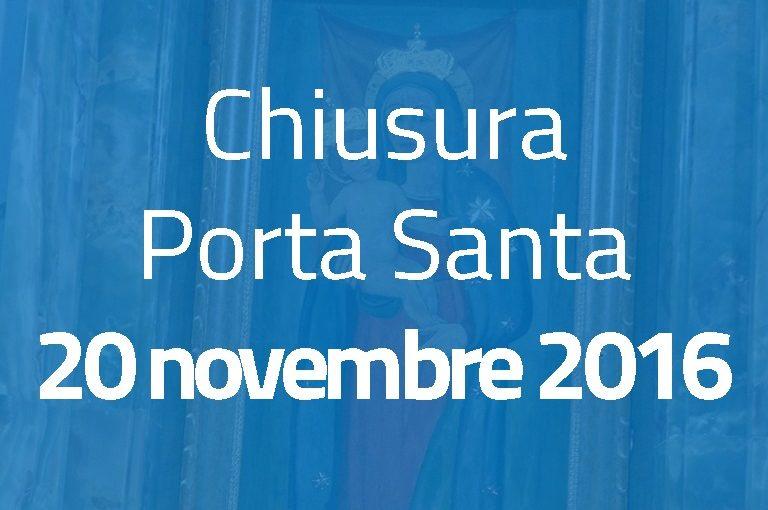 Chiusura Porta Santa: 20 novembre 2016
