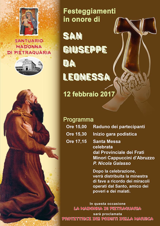 Festeggiamenti in onore di San Giuseppe da Leonessa