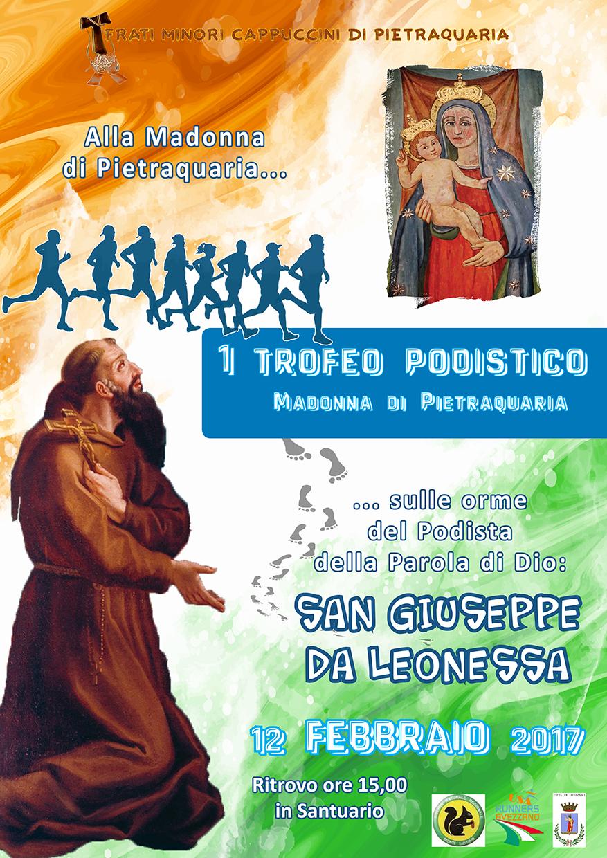 """1° Trofeo Podistico """"Madonna di Pietraquaria"""""""