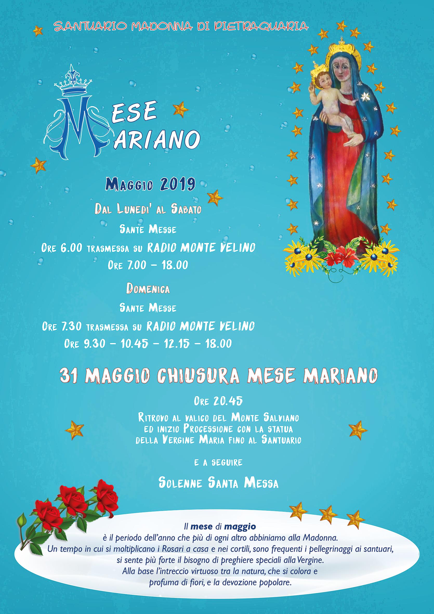 Mese Mariano 2019