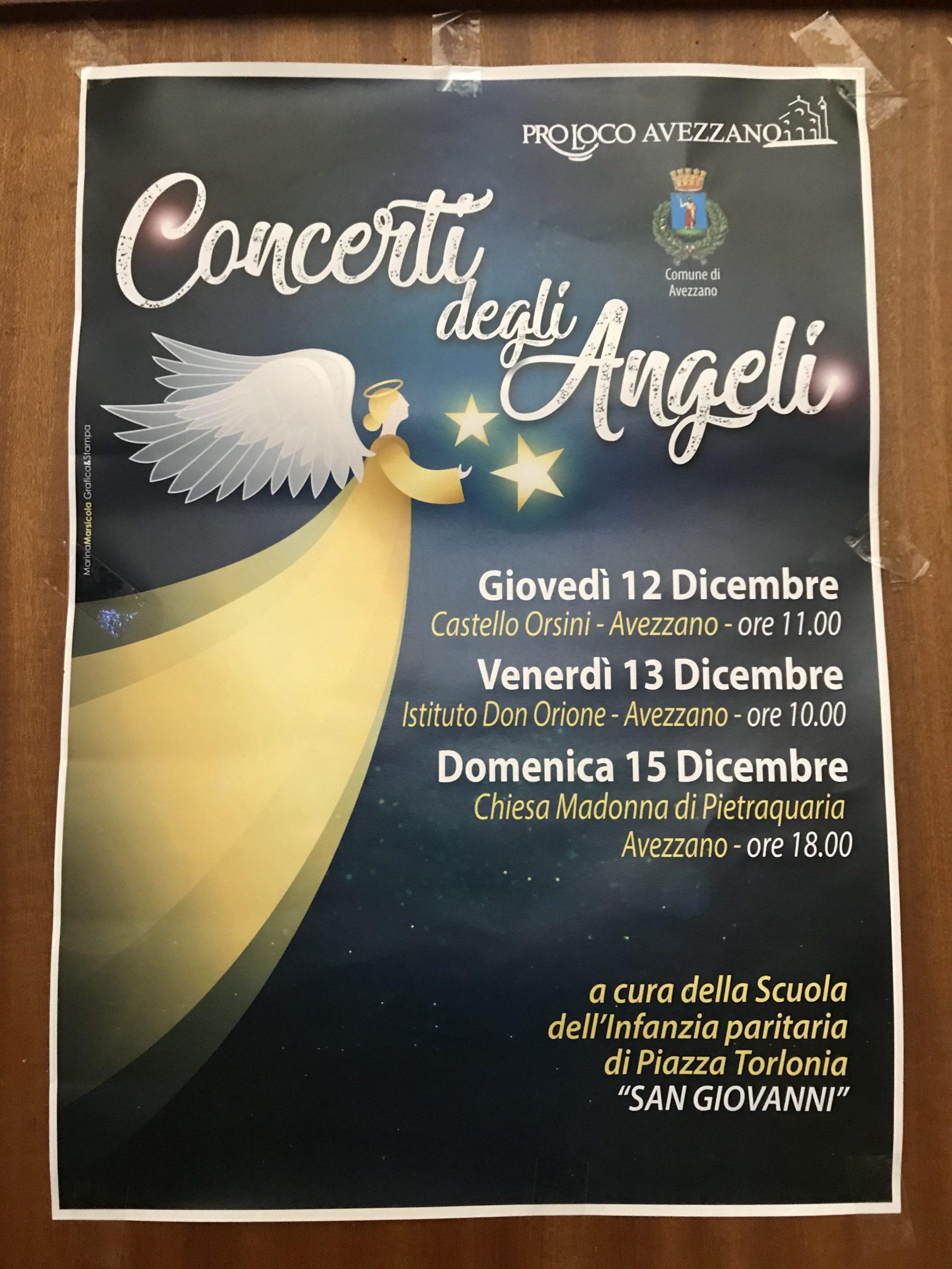 Concerti degli Angeli 2019