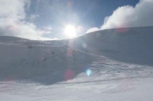 Nevicata sul Monte Magnola